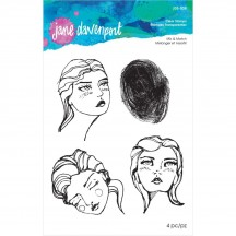 Jane Davenport Artomology Mix & Match Clear Stamp Set JDS-038