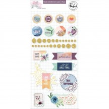 Pinkfresh Studio Just a Little Lovely Mixed Embellishments RC500519