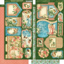 Graphic 45 Joy to the World Christmas Double-Sided Cardstock Tags and Pockets 4501911