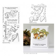 My Favorite Things Jungle Gym Clear Stamp & Die Set