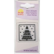 Kars Clear Stamp - Christmas Tree 1042