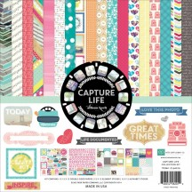 "Echo Park Capture Life 12""x12"" Collection Kit CL64016"