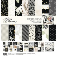 "Simple Stories Always & Forever Wedding 12""x12"" Collection Kit 10058"