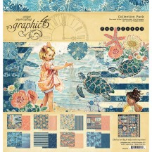 "Graphic 45 Sun Kissed 12""x12"" Collection Pack 4501676"