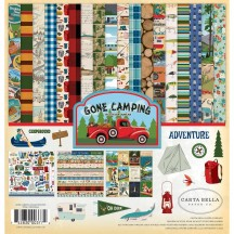 "Carta Bella Gone Camping 12""x12"" Collection Kit CBGC85016"