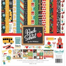 "Echo Park Back to School 12""x12"" Collection Kit BTS15616"