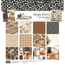 "Simple Stories Simple Vintage Halloween 12""x12"" Collection Kit 10287"
