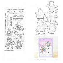 My Favorite Things Knight In Shining Armor Clear Stamp & Die Set