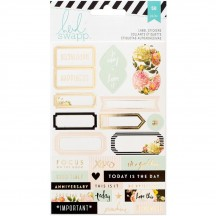 Heidi Swapp Memory Planner Foil Label Stickers 312584