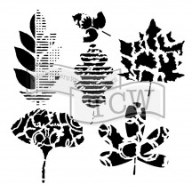 """The Crafters Workshop Rebekah Meier Leaf Collection 6""""x6"""" Template TCW808s"""