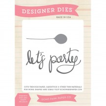 Echo Park Designer Dies Anything Goes Let's Party Universal Cutting Dies AG74030