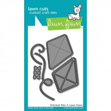 Lawn Fawn Cuts Stitched Kite Universal Custom Craft Cutting Dies LF1204