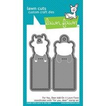 Lawn Fawn Cuts For You, Deer Add-On Universal Custom Craft Cutting Dies LF1482