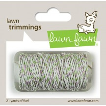 Lawn Fawn Trimmings Meadow Sparkle Hemp Cord 21 yds / 19.2m LF1579