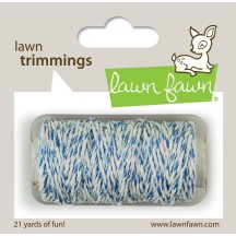 Lawn Fawn Trimmings Ocean Sparkle Hemp Cord 21 yds / 19.2m LF1580