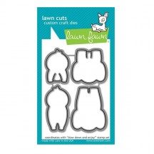 Lawn Fawn Cuts Slow Down and Enjoy Universal Custom Craft Cutting Dies LF1603