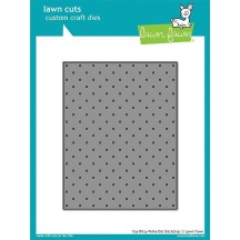 Lawn Fawn Cuts Itsy Bitsy Polka Dot Backdrop Universal Craft Cutting Dies LF1721