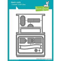 Lawn Fawn Cuts Double Slider Surprise Universal Craft Cutting Dies LF1781