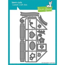 Lawn Fawn Cuts Mini Pop Up Box Universal Craft Cutting Dies LF1782