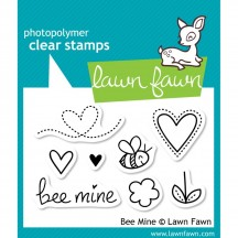 Lawn Fawn Bee Mine Clear Stamps LF439