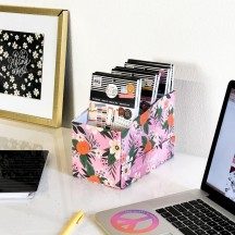 Me & My Big Ideas The Happy Planner Rosy Florals Sticker Storage Box OS1-006
