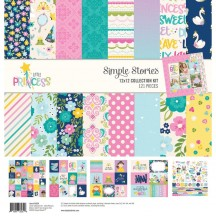 "Simple Stories Little Princess 12""x12"" Collection Kit 10554"