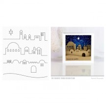 My Favorite Things Little Town of Bethlehem Christmas Die-namics Universal Cutting Dies MFT-1610