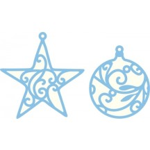 Marianne Designs Creatables - Star & Bauble LR0183