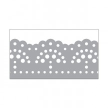 Little B Silver Foil Doily Washi Tape 10m 100412