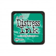Ranger Tim Holtz Lucky Clover Mini Distress Ink Pad TDP47384 green