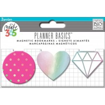 Me & My Big Ideas Create 365 The Happy Planner Basics Magnetic Clips Neon MAGC-09