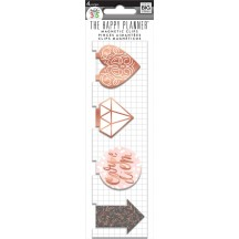 Me & My Big Ideas Create 365 The Happy Planner Rose Gold Magnetic Clips MAGC-15