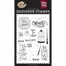 Echo Park Witches & Wizards 2 You are Magic Clear Stamp Set WIW247044