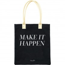 Teresa Collins Make it Happen Black & Gold Tote Bag 1002