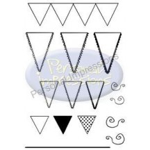Personal Impressions Clear Stamps - Lets Go a Bunting by Marion Emberson