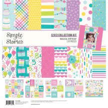 "Simple Stories Magical Birthday 12""x12"" Collection Kit 12900"
