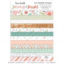 Cocoa Vanilla Studio Merry & Bright A5 Paper Stack MB011