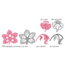 Marianne Designs Collectables - Flowers And Leaf COL1303