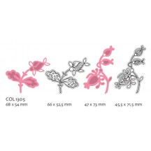 Marianne Designs Collectables - Two Flowers COL1305