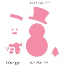 Marianne Designs Collectables - Snowman COL1332