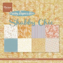 "Marianne Design Pretty Papers 6""x6"" Paper Bloc - Shabby Chic PK9121"