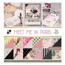 "DCWV Meet Me In Paris Premium Stack 12""x12"" - 36 sheets PS-005-00530"