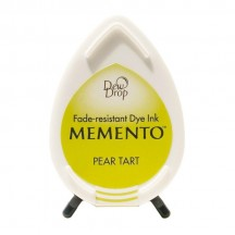 Tsukineko Memento Dye Ink Dew Drop Pad - Pear Tart - Green