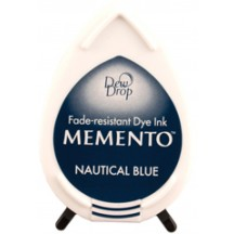 Tsukineko Memento Dye Ink Dew Drop Pad - Nautical Blue
