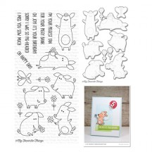 My Favorite Things Sow Much Cuteness Clear Stamps & Die Set