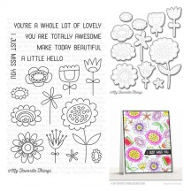 My Favorite Things Springtime Blooms Clear Stamps & Die Set