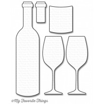 My Favorite Things Wine Service Die-namics Universal Cutting Dies MFT-1046