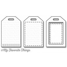 My Favorite Things Stitched Tiny Tags Die-namics Universal Cutting Dies MFT-1064