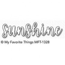 My Favorite Things Sunshine Die-namics Universal Cutting Dies MFT-1328