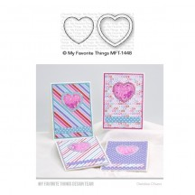 My Favorite Things Mini Heart Shaker Window & Frame Die-namics Universal Cutting Dies MFT-1448
